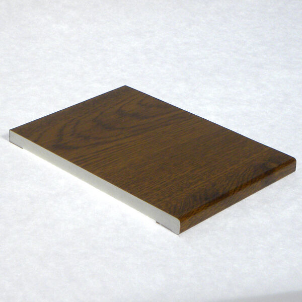 Pvc Siding Boards : Light oak plastic upvc pvc flat soffit board various sizes