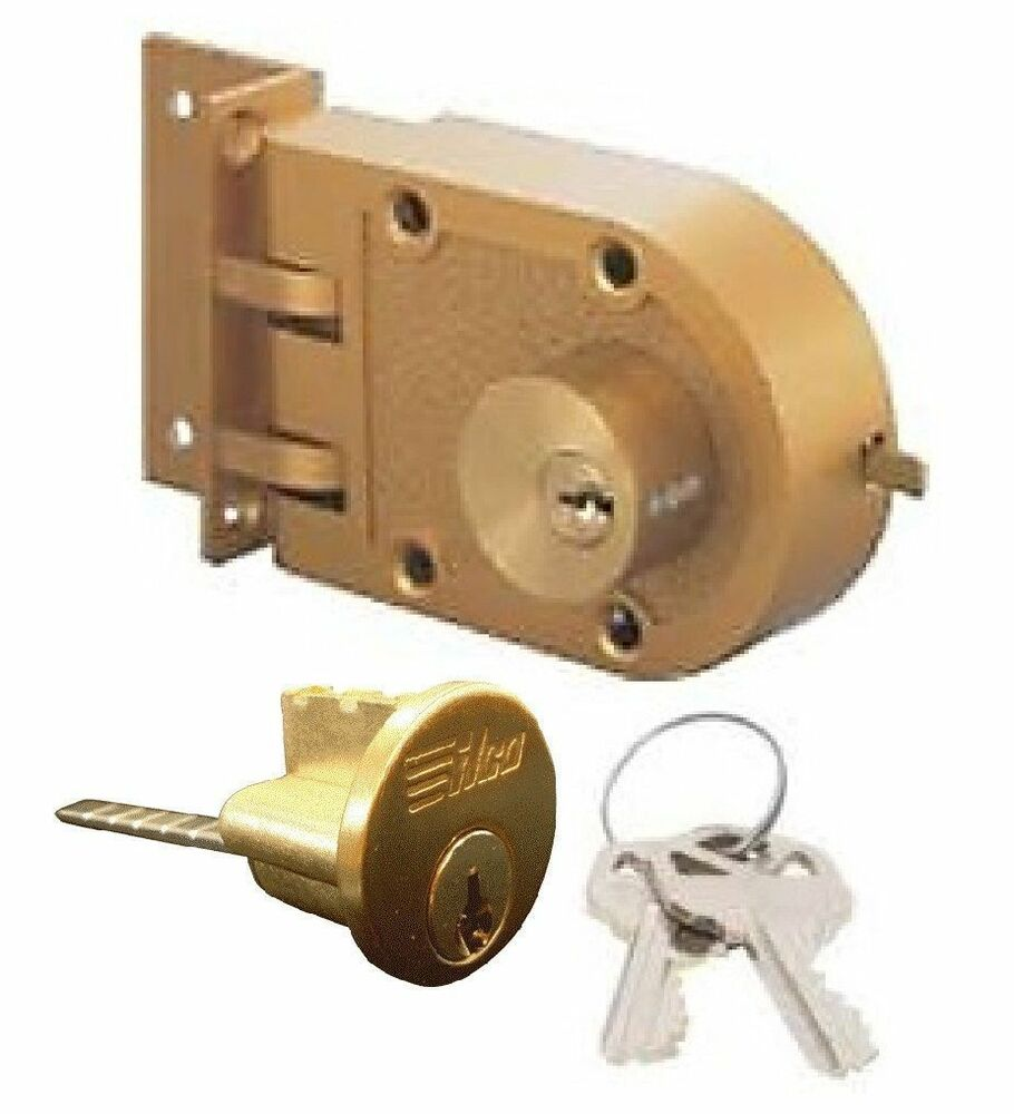 Ilco Double Cylinder Jimmy Proof Deadbolt Lock 535 53 51