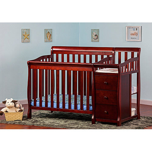 3 In 1 Convertible Side Crib Amp Changer Twin Bed Nursery