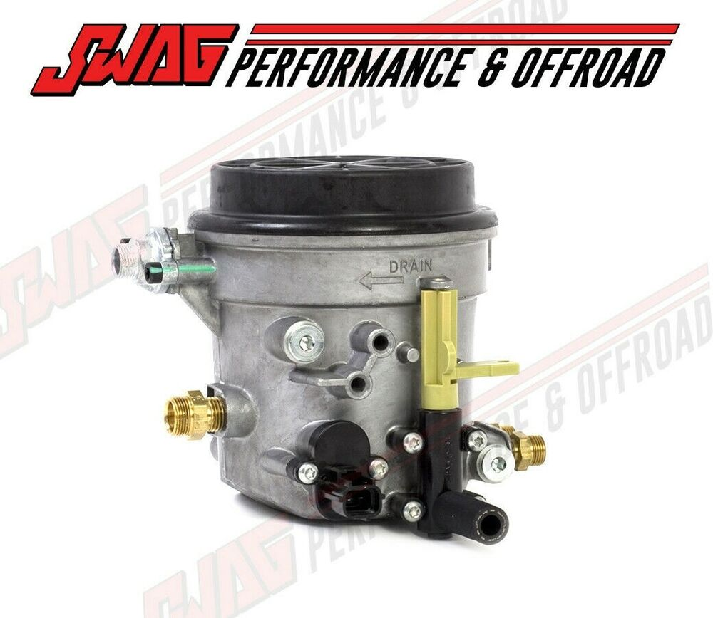 7 3 fuel filter housing diagram 99-03 ford 7.3l powerstroke diesel genuine motorcraft oem ... 7 3 fuel filter housing #1