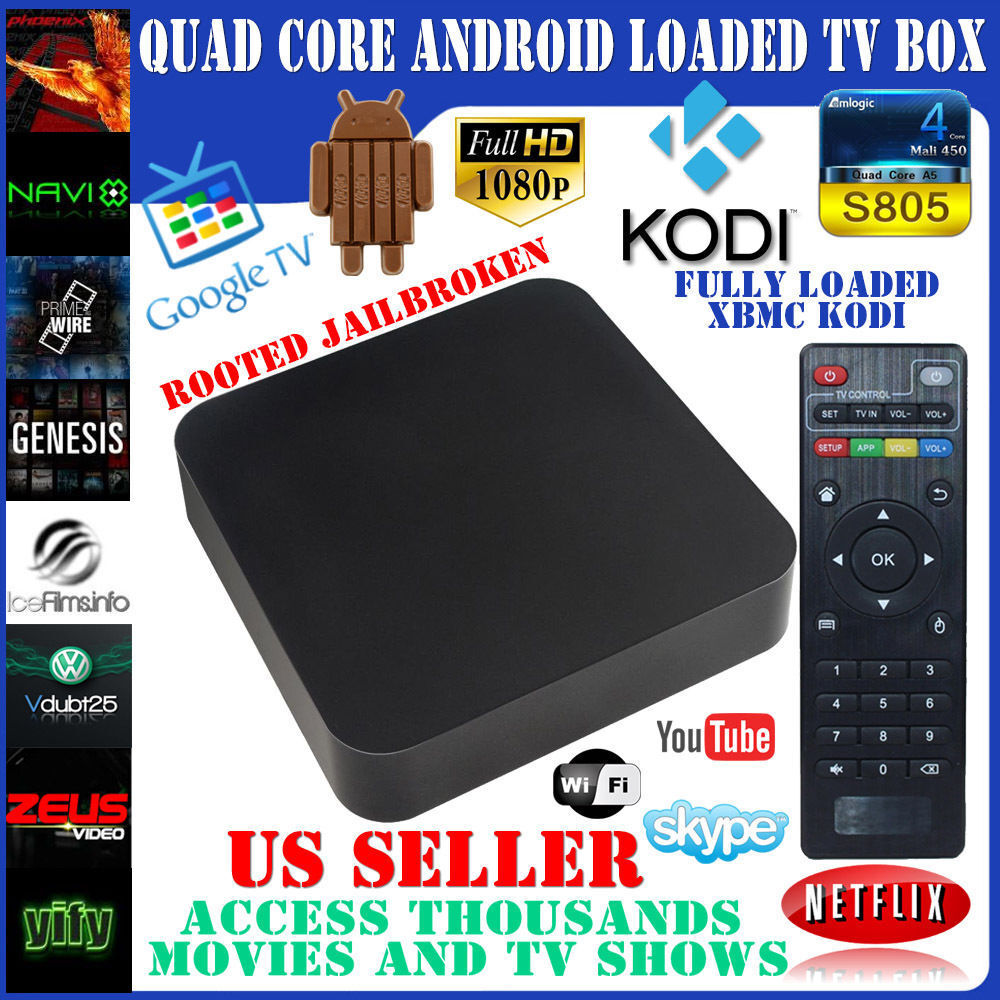 Android 4 4 Quad Core Smart Tv Box Fully Loaded And Fully