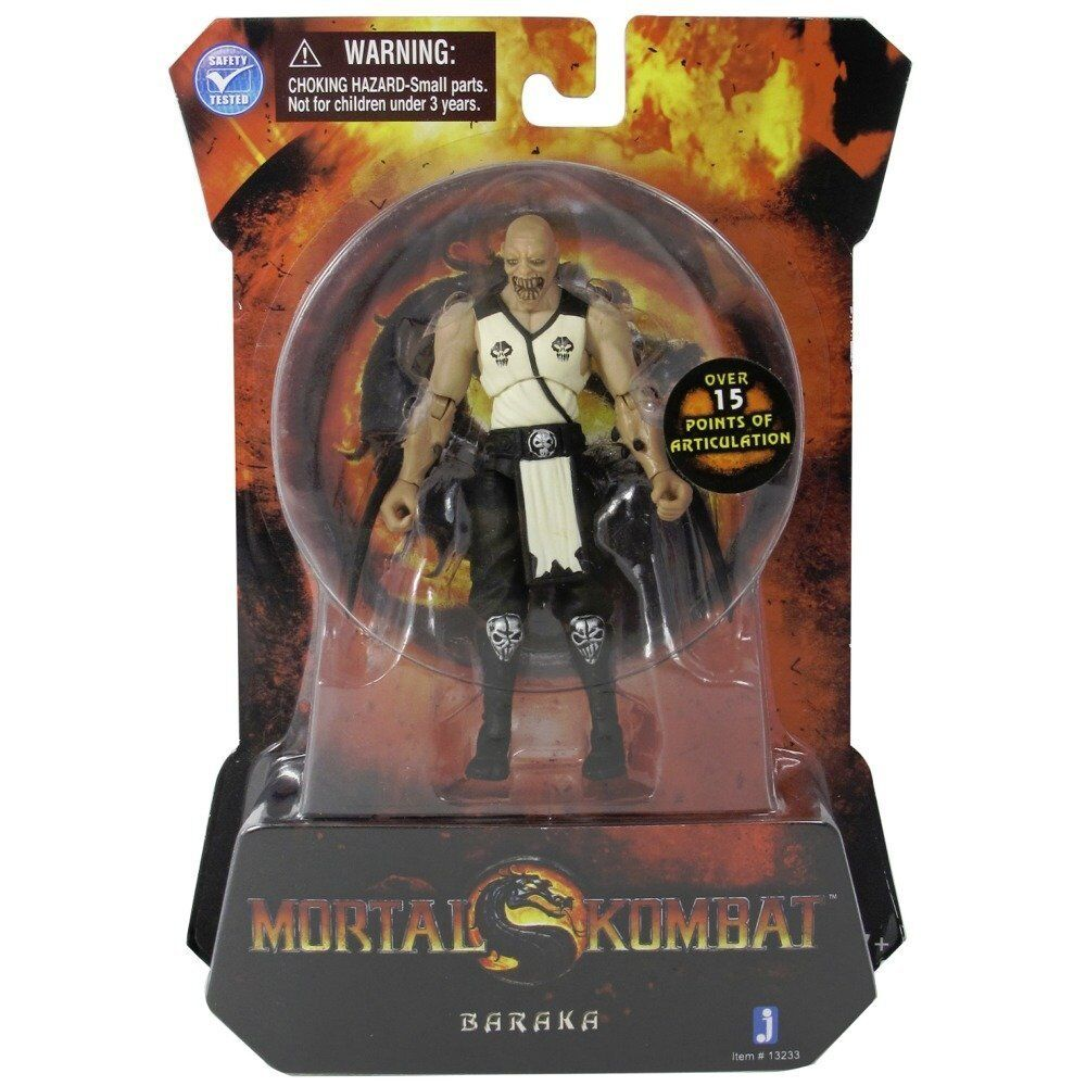 Toys For 9 : Mortal kombat mk in baraka action figure jazwares toys