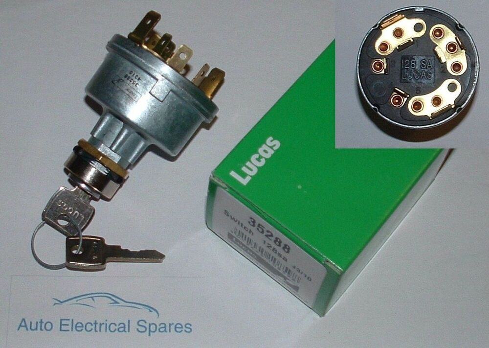lucas 35288 128sa ignition switch lock for land rover defender 90 110 ebay