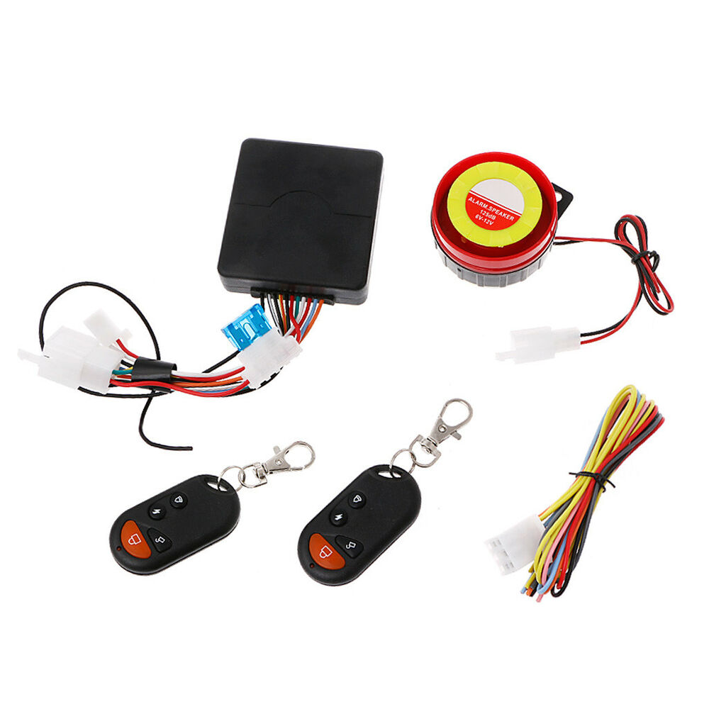 Motorcycle Bike Alarm System Anti