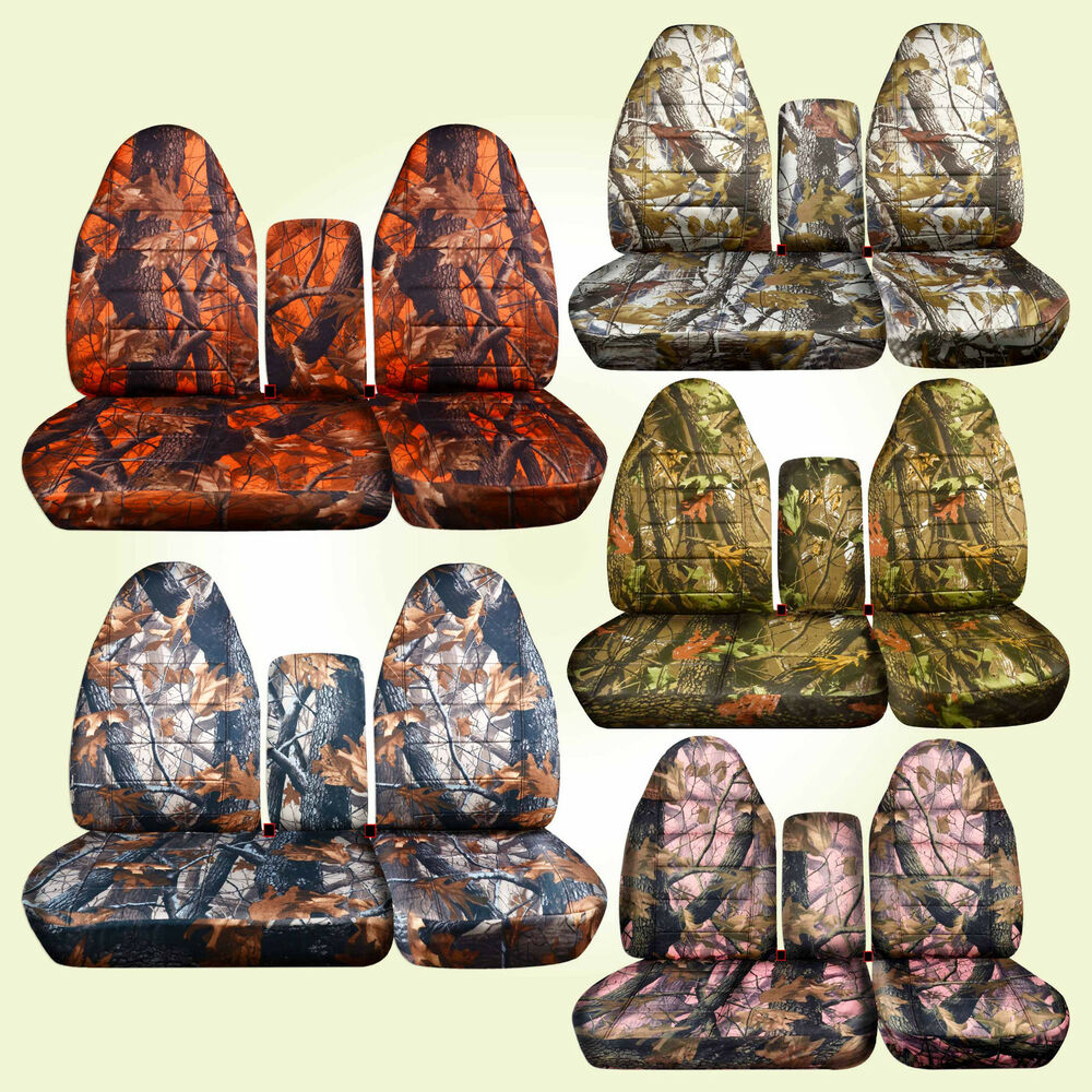 1996 03 Ford F150 40 60 Highback Seat Camouflage Car Seat