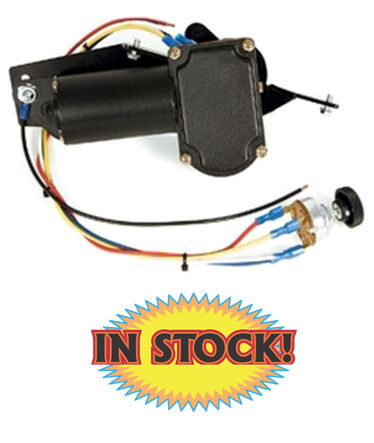 details about new port ne4753cct - 1947-53 chevy & gmc pickup wiper motor  w/stock choke cable