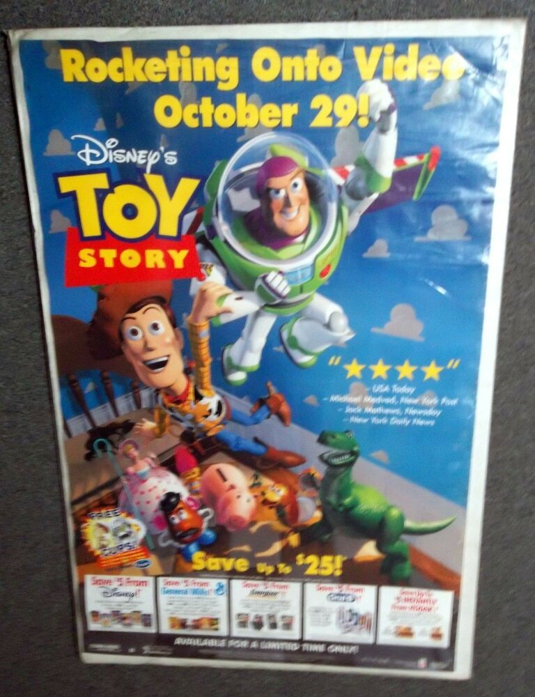 toy story movie poster w coupon ads pixar disney tom