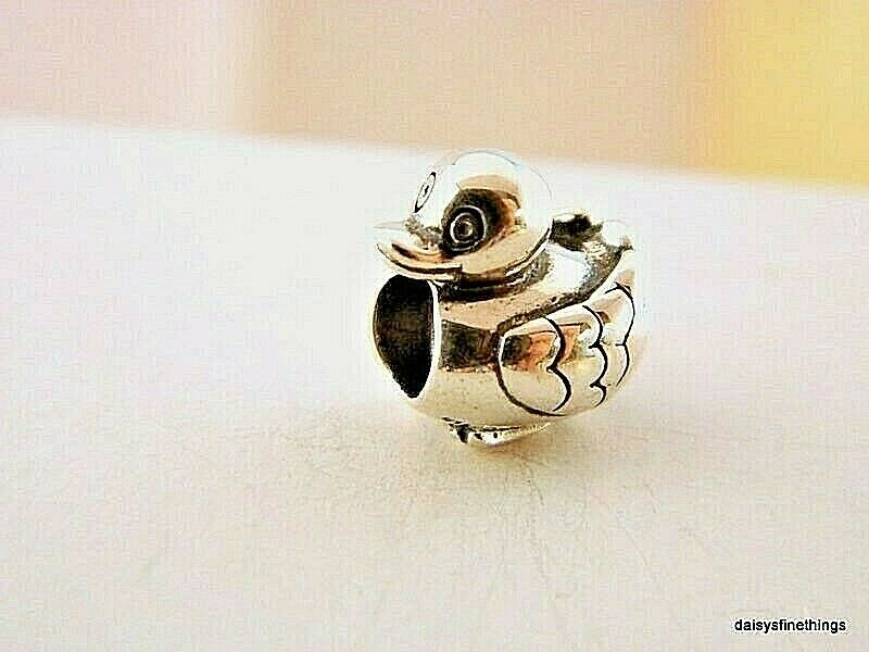 New  Authentic Pandora Charm Duck  790955 P