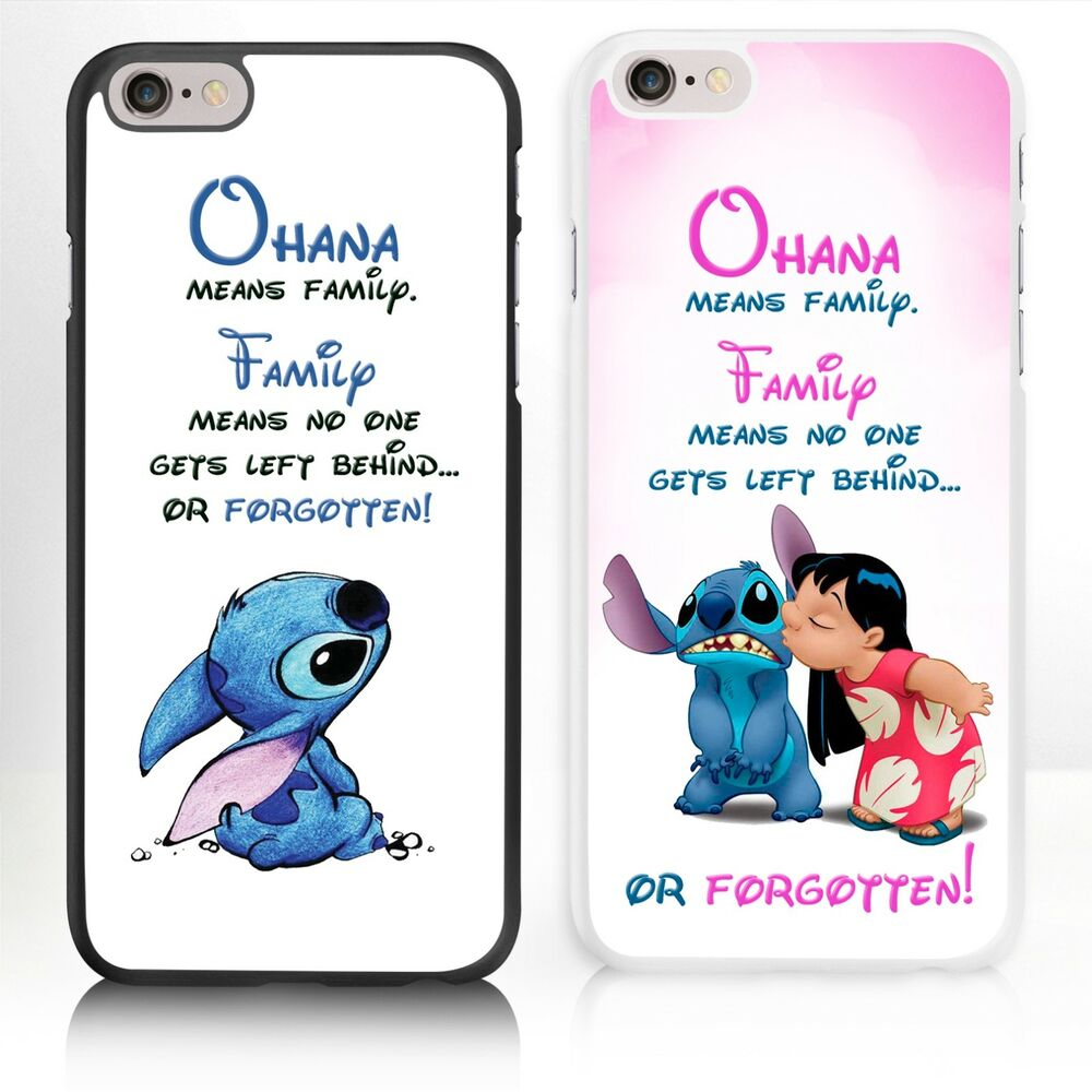 disney iphone cases disney lilo and stitch iphone for phone range 4 5 5s 10506