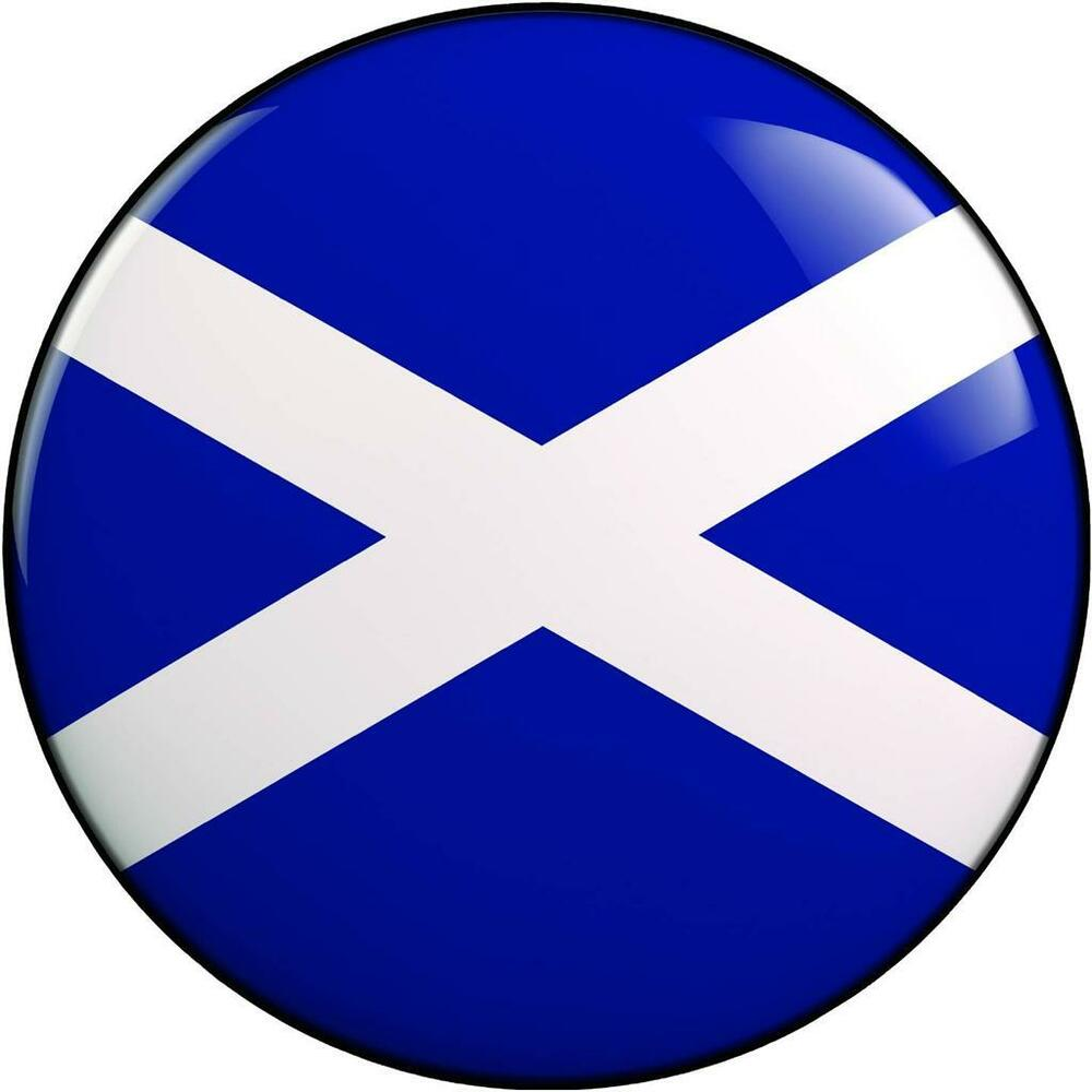 Spare Wheel Cover Sticker Scottish Scotland Flag 4x4 Land