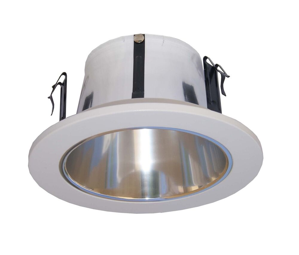 """Shop Light With Reflector: 4"""" Line Voltage Open Reflector Trim/trims For Recessed"""