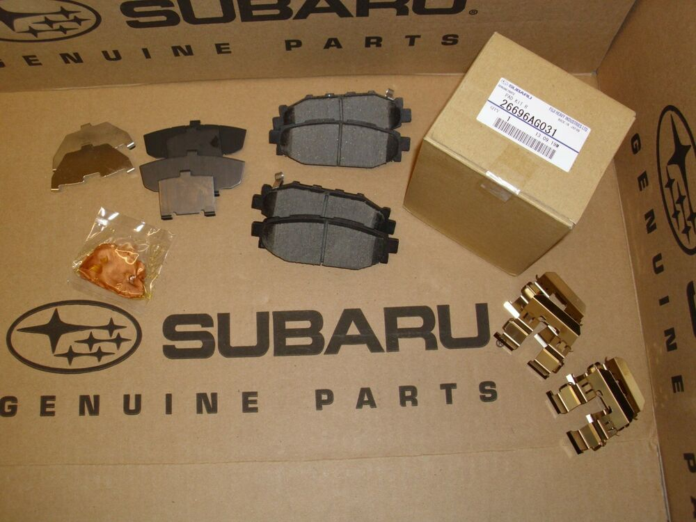 Subaru Outback Accessories >> Genuine OEM Subaru Forester Rear Brake Pad Set 2007-2012 ...