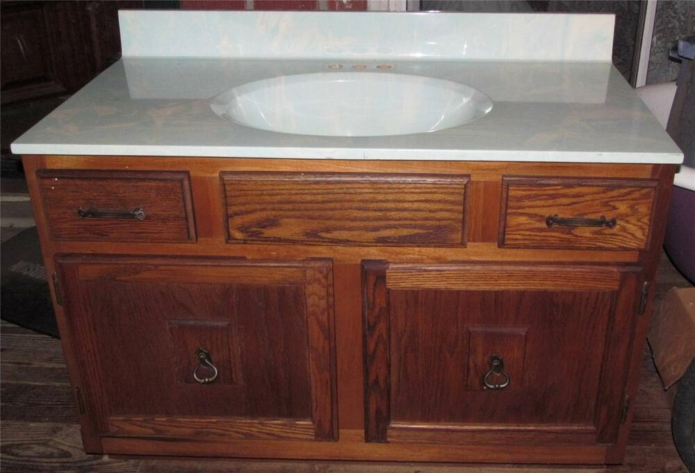 Vintage Light Teal Swirl Bathroom Cabinet Sink Triangle Pacific Ebay