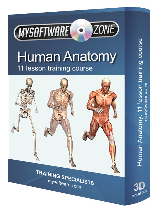 Human Anatomy Physiology Atlas Training Course Cd Book Ebay