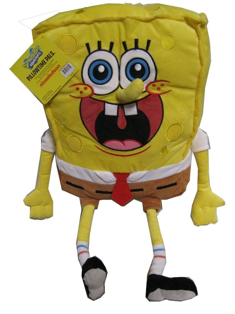 Spongebob Cuddle Pal Plush Toy Doll Pillow Huge