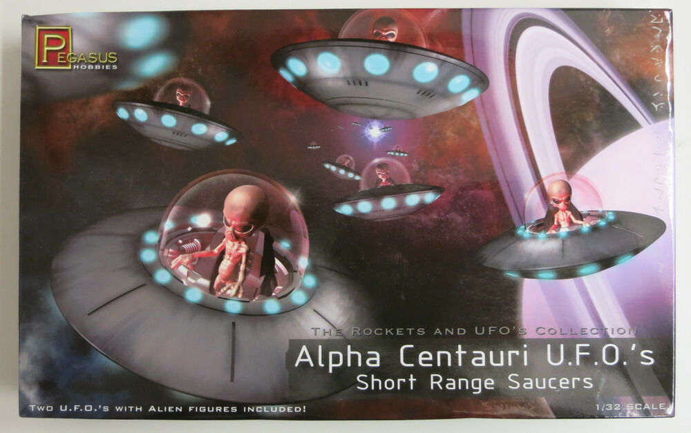 Pegasus 1/32 Alpha Centauri UFO's (2) Plastic Model Kit ...