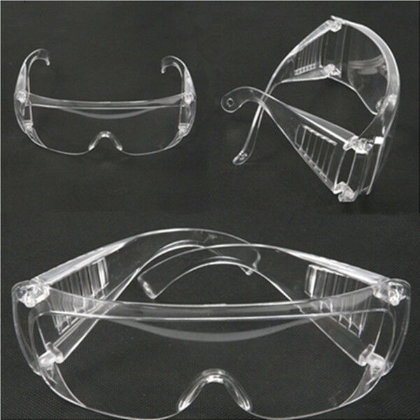 cde963e82533 Details about 3x Safety Glasses Goggles Anti-fog Wind Dust Protective  Eyewear UV Lab Chemistry