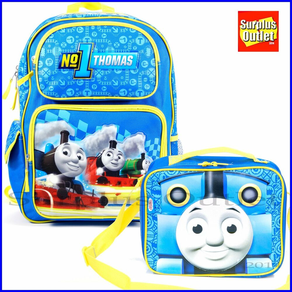 Thomas The Train 16 Quot Large School Backpack And Lunch Bag 2