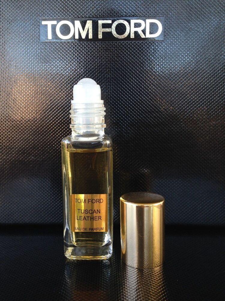 tom ford tuscan leather 12ml roll on ebay. Black Bedroom Furniture Sets. Home Design Ideas