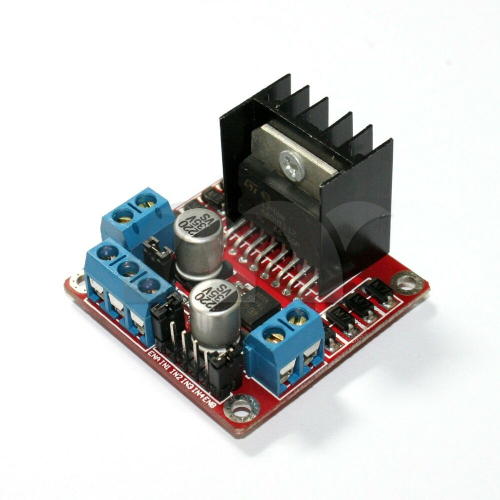 Genuine l298n dual h bridge dc stepper motor drive for Motor driver for arduino