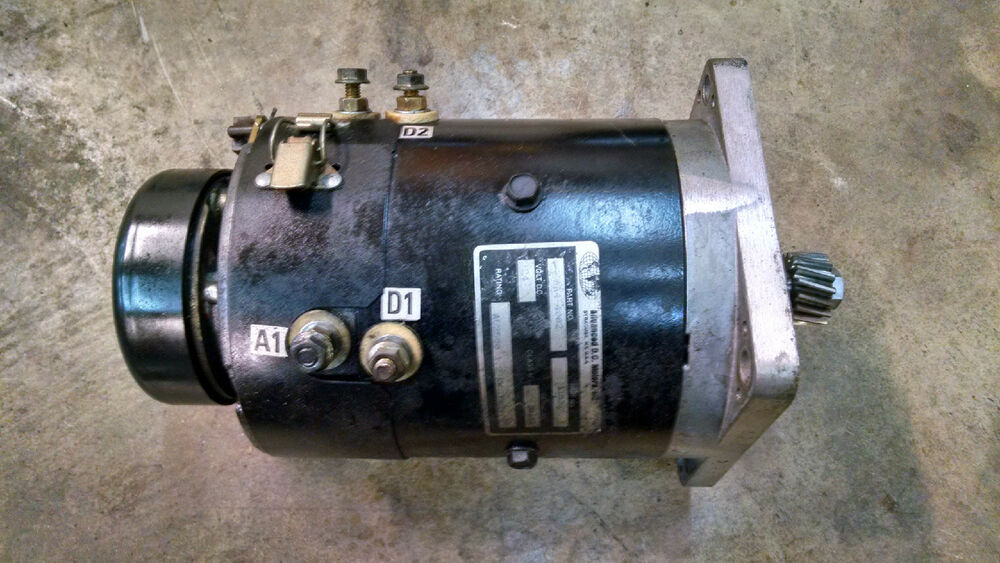 Advanced Dc Electric Drive Motor 118362 Aa4 4002 Crown
