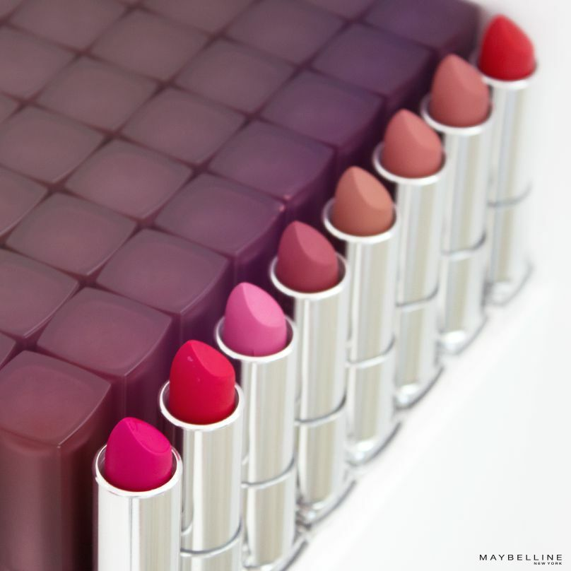12 Sensational Schemes That Are: MAYBELLINE COLORSENSATIONAL CREAMY MATTE LIP COLOR