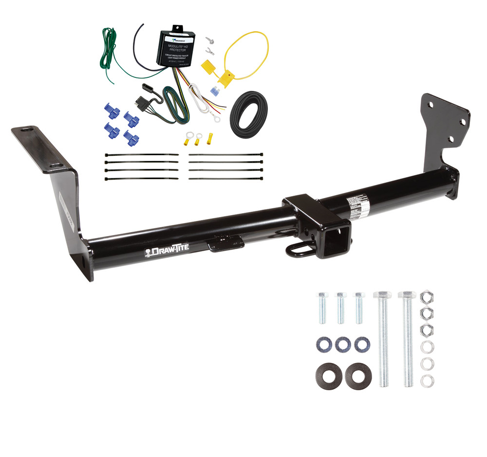 2008 - 2015 LAND ROVER LR2 TRAILER HITCH & WIRING COMBO BY ...