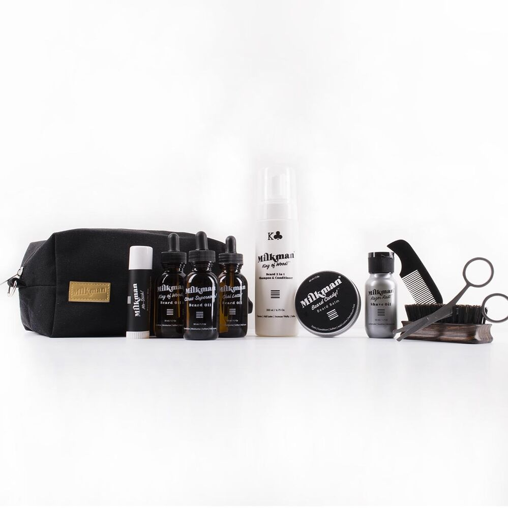 milkman grooming co ultimate beard care kit ebay. Black Bedroom Furniture Sets. Home Design Ideas