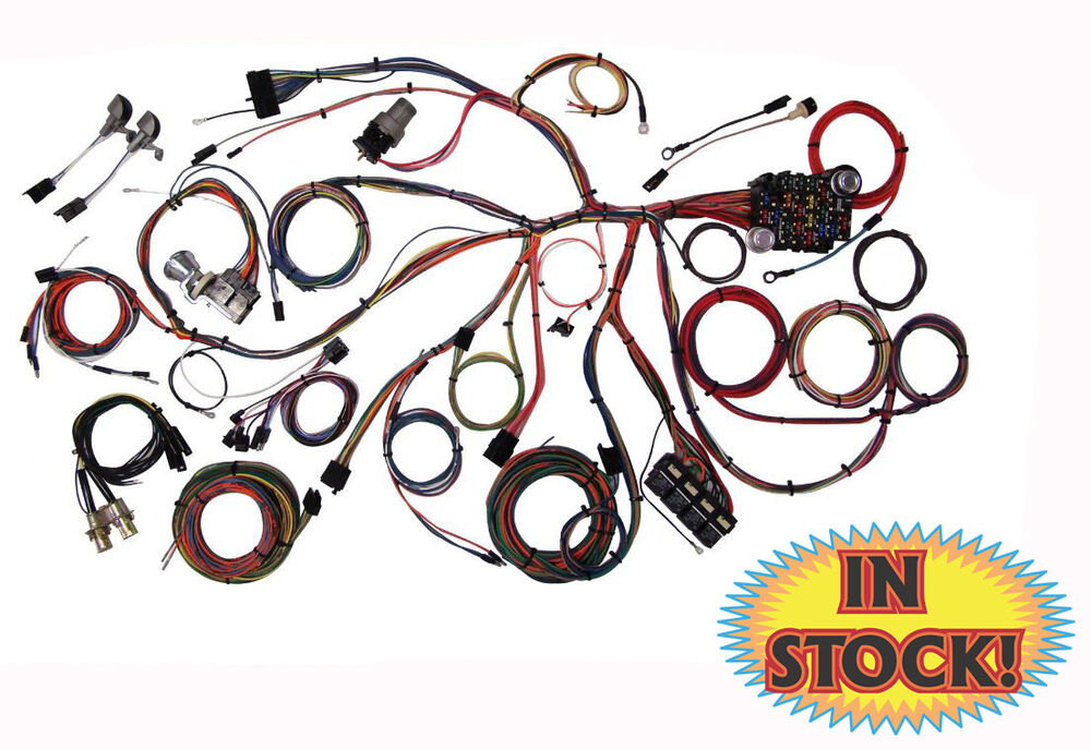 s l1000 american autowire parts & accessories ebay 1957 Chevy Wiring Harness Diagram at n-0.co