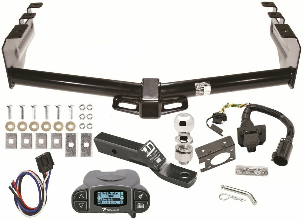 Chevy silverado trailer hitch kit w tekonsha