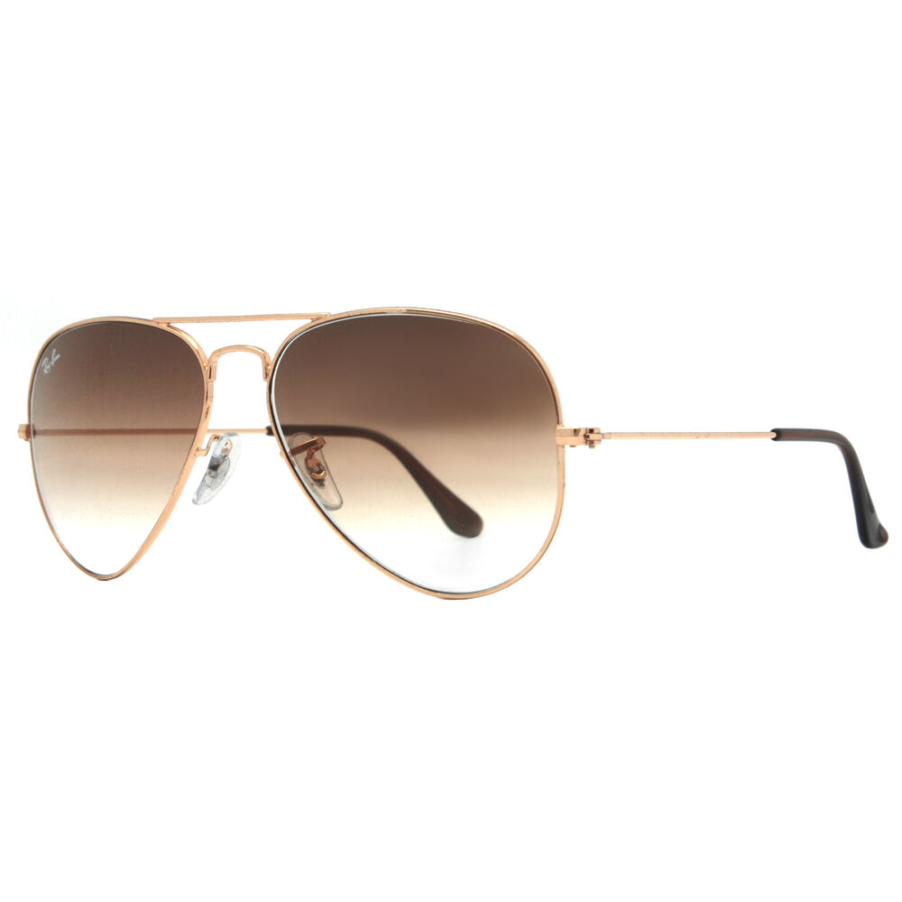 ray ban rb 3025 001 51 58mm gold brown gradient aviator. Black Bedroom Furniture Sets. Home Design Ideas