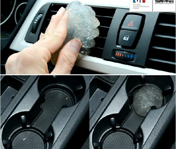 Air Conditioning Vent Panels Dust Remove Cleaner Glue Gel Gum Plastic For Benz Ebay
