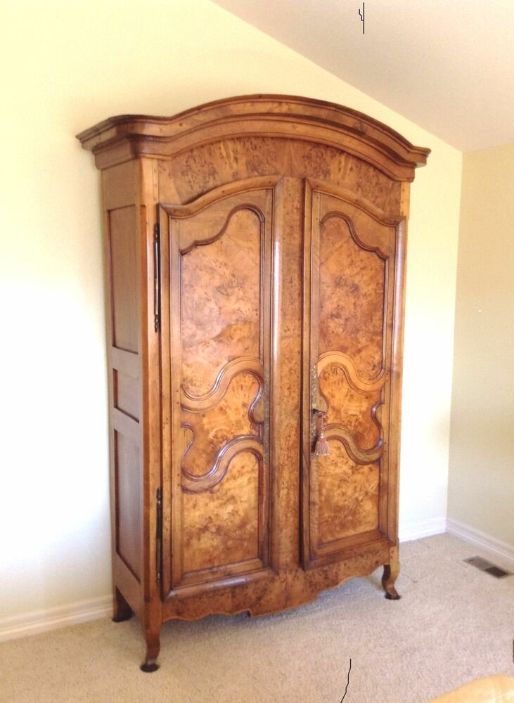 antique louis xv french armoire latest price revised to. Black Bedroom Furniture Sets. Home Design Ideas