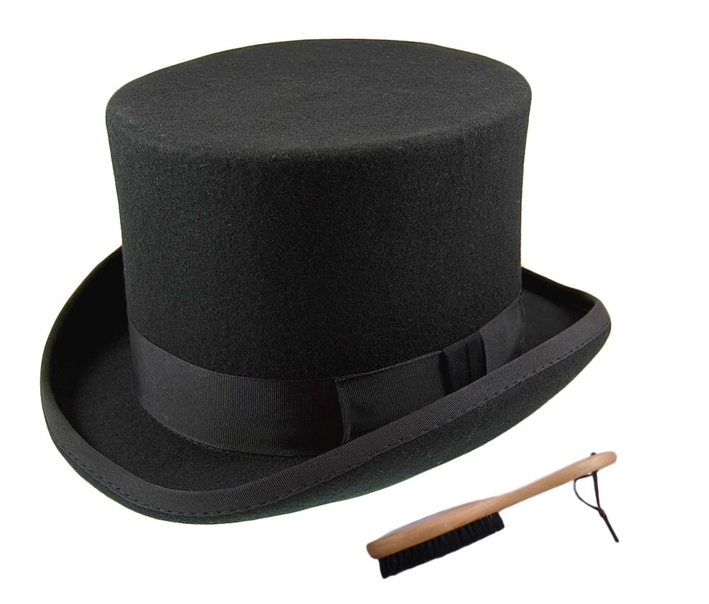Quality Hand Made 100% Wool Top Hat Wedding Ascot Hat Many