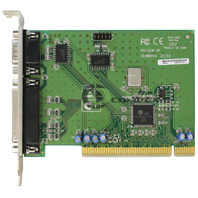 Hp pci 2s1p serial parallel port adapter card 321722 001 320302 001 ebay - Parallel port and serial port ...