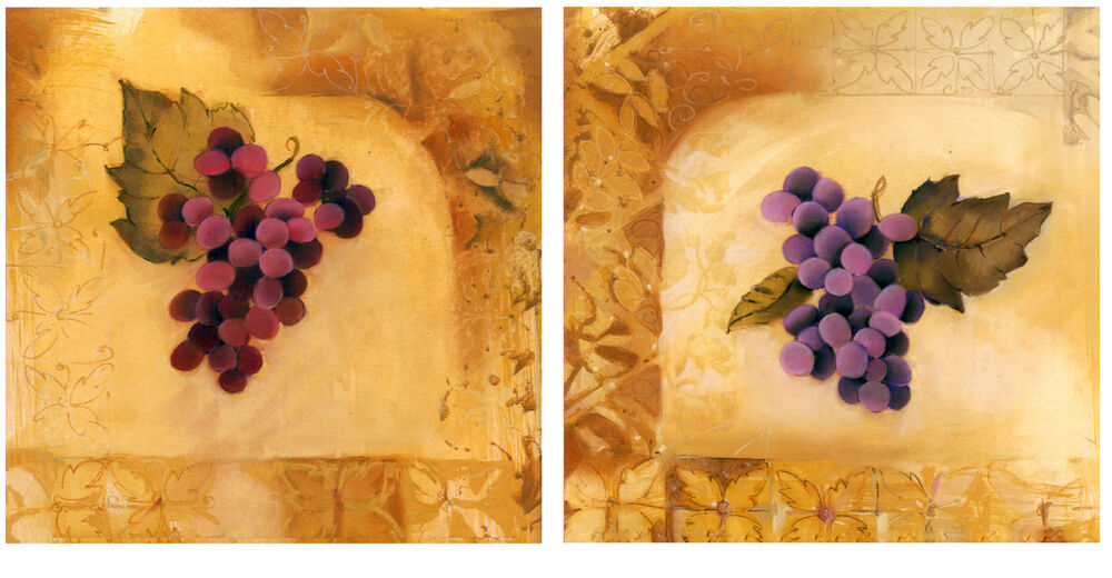 Mural ceramic art kitchen decor grape backsplash bath tile for Artwork on tile ceramic mural