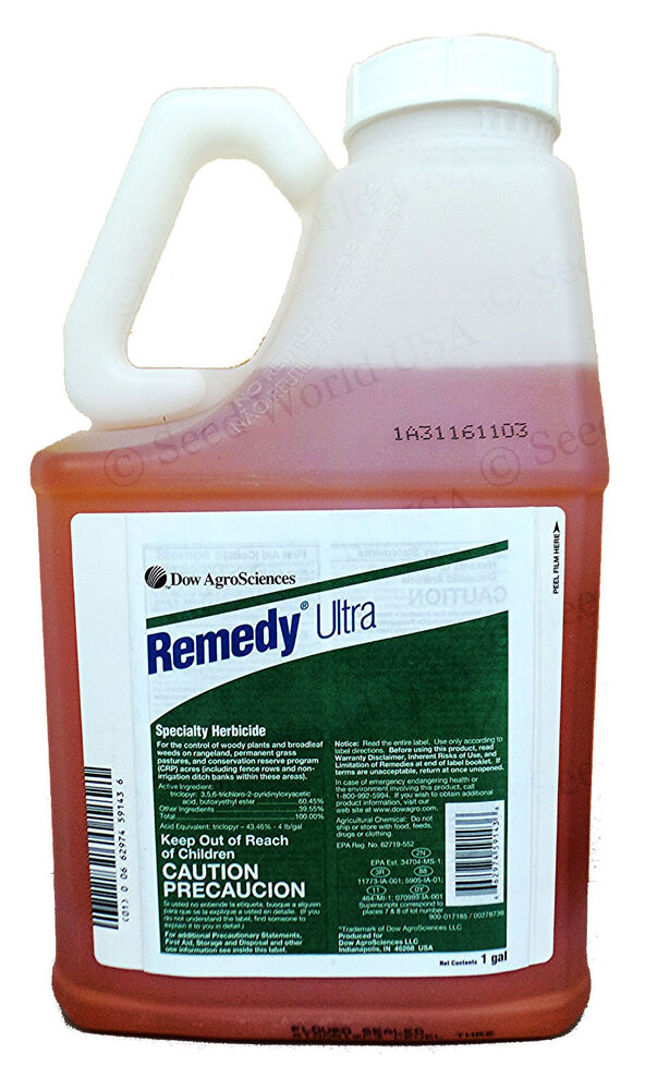 Remedy Ultra Herbicide 1 Gallon Triclopyr Brush Killer