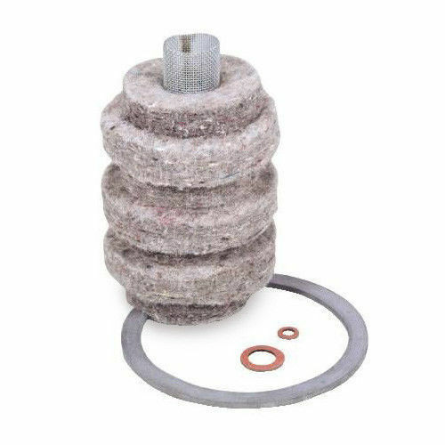 12 Pack Wool Felt Fuel Oil Filter Replacement Cartridge By