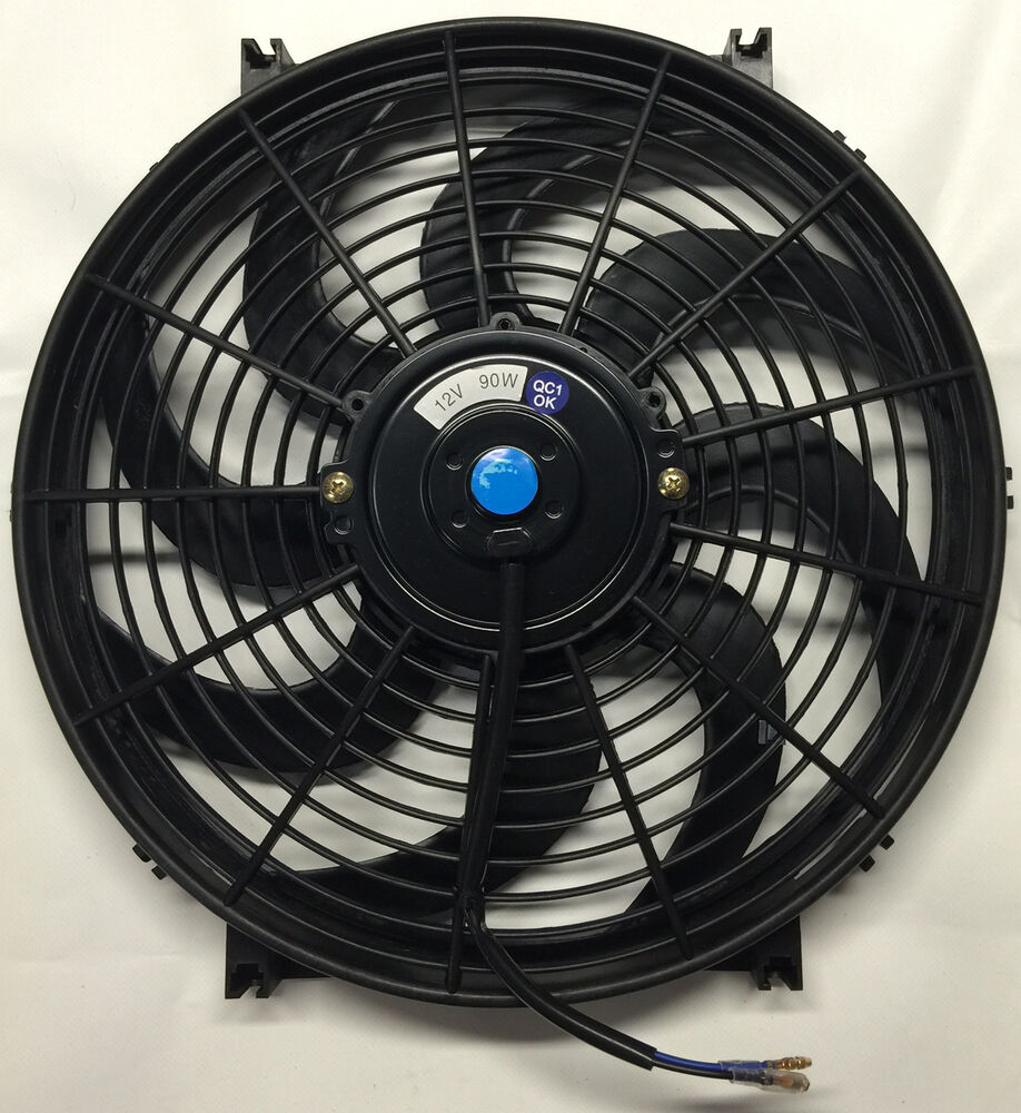 Radiator Cooling Fans : Quot inch electric universal automotive cooling radiator