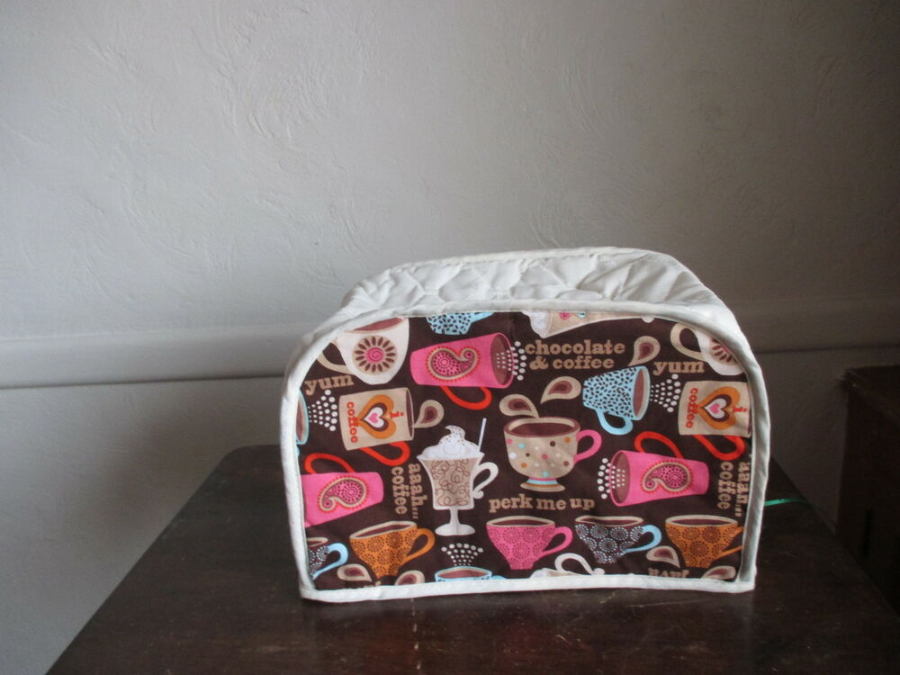 coffee 2 slice appliance toaster cover new ebay. Black Bedroom Furniture Sets. Home Design Ideas