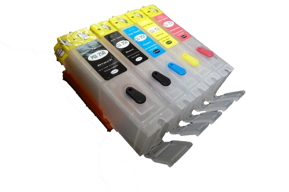 canon printer how to allow refillable ink cartridge