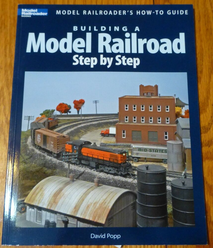 How to book 12418 building a model railroad step by step for Construction of house step by step