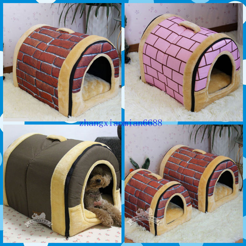 Rugged Large Dog House: New Outdoor Pet Kennel Bed Cozy Large/Small/ For Dog And
