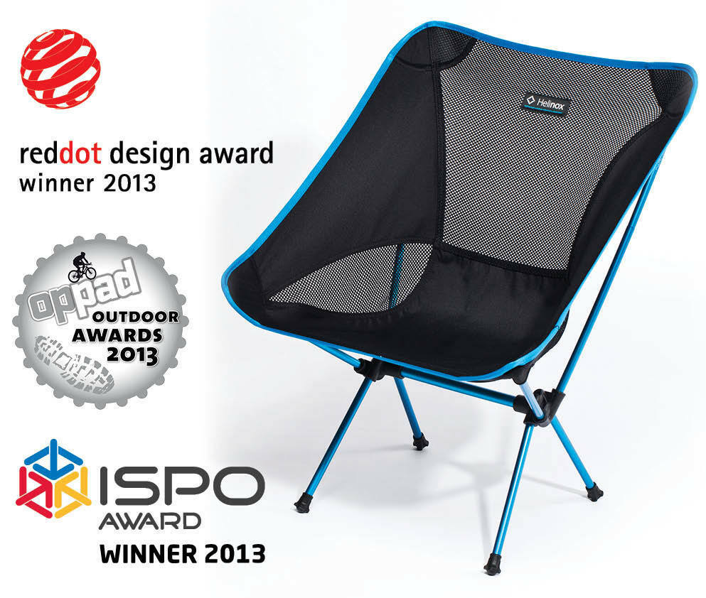 Helinox Chair One Black Lightweight Compact Camping Chair ...