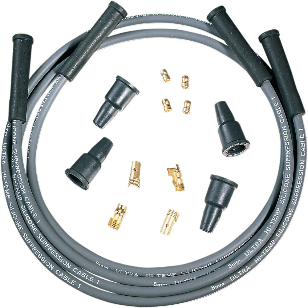 Dynatek Universal 8mm Suppression Spark Plug Wire Kit For