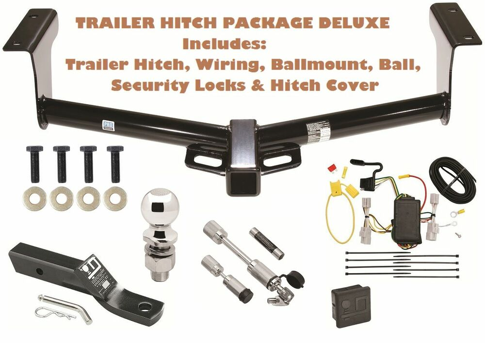 2006 2012 toyota rav4 trailer tow hitch pkg deluxe wiring