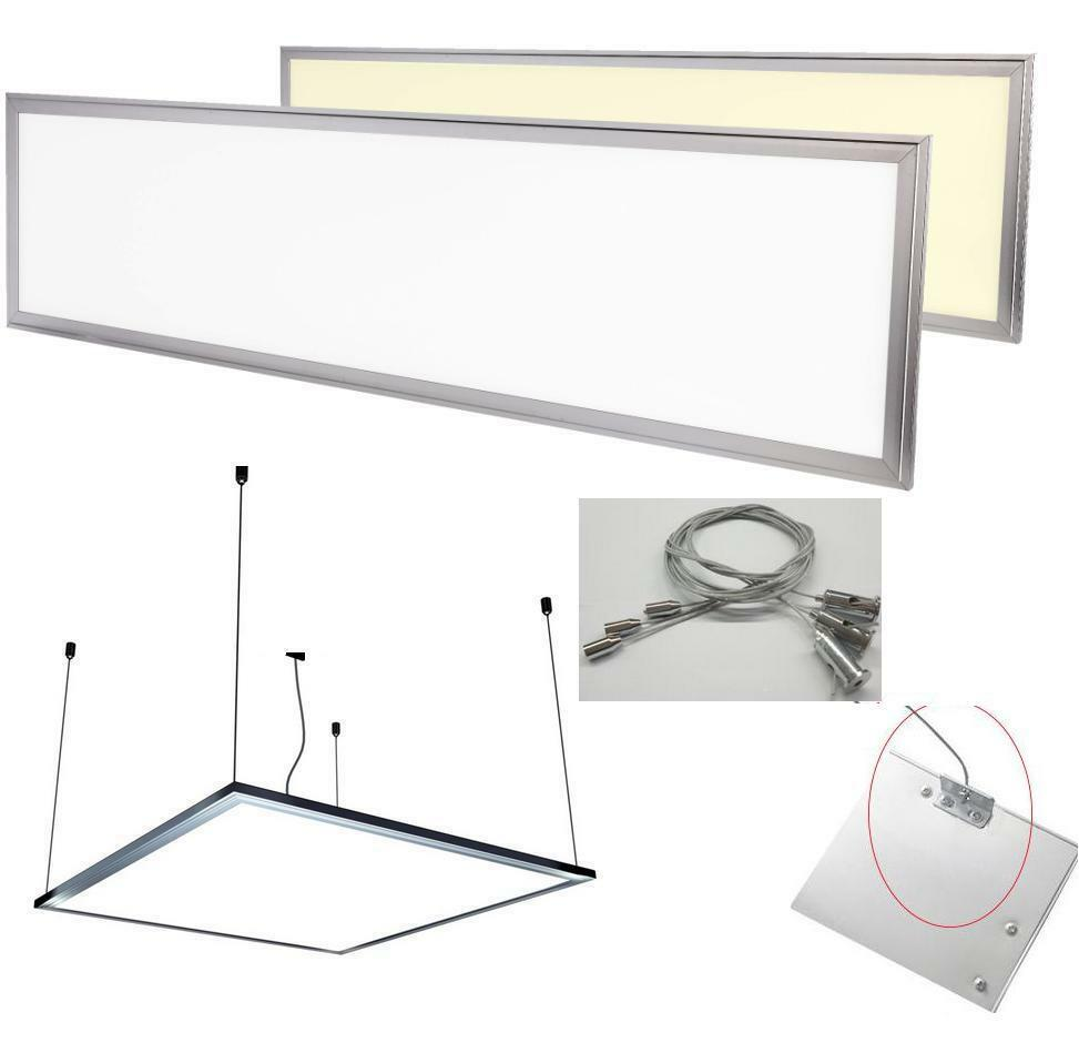 30x30 60x30 60x60 120x30cm highpower led panel smd lampe leuchte ebay. Black Bedroom Furniture Sets. Home Design Ideas