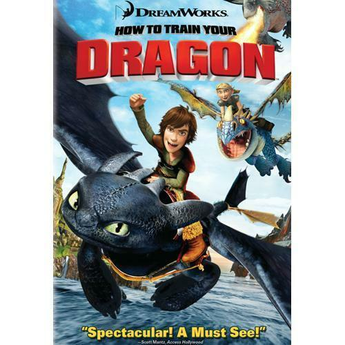 target how to train your dragon dvd