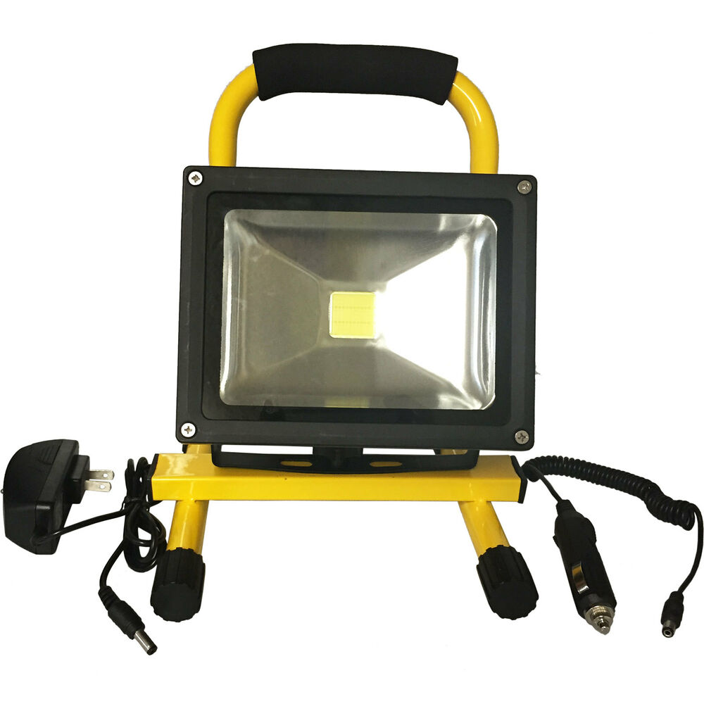 Led Flood Light Rechargeable 20w: Green Leaf 20w LED Work Flood Light Rechargeable Battery