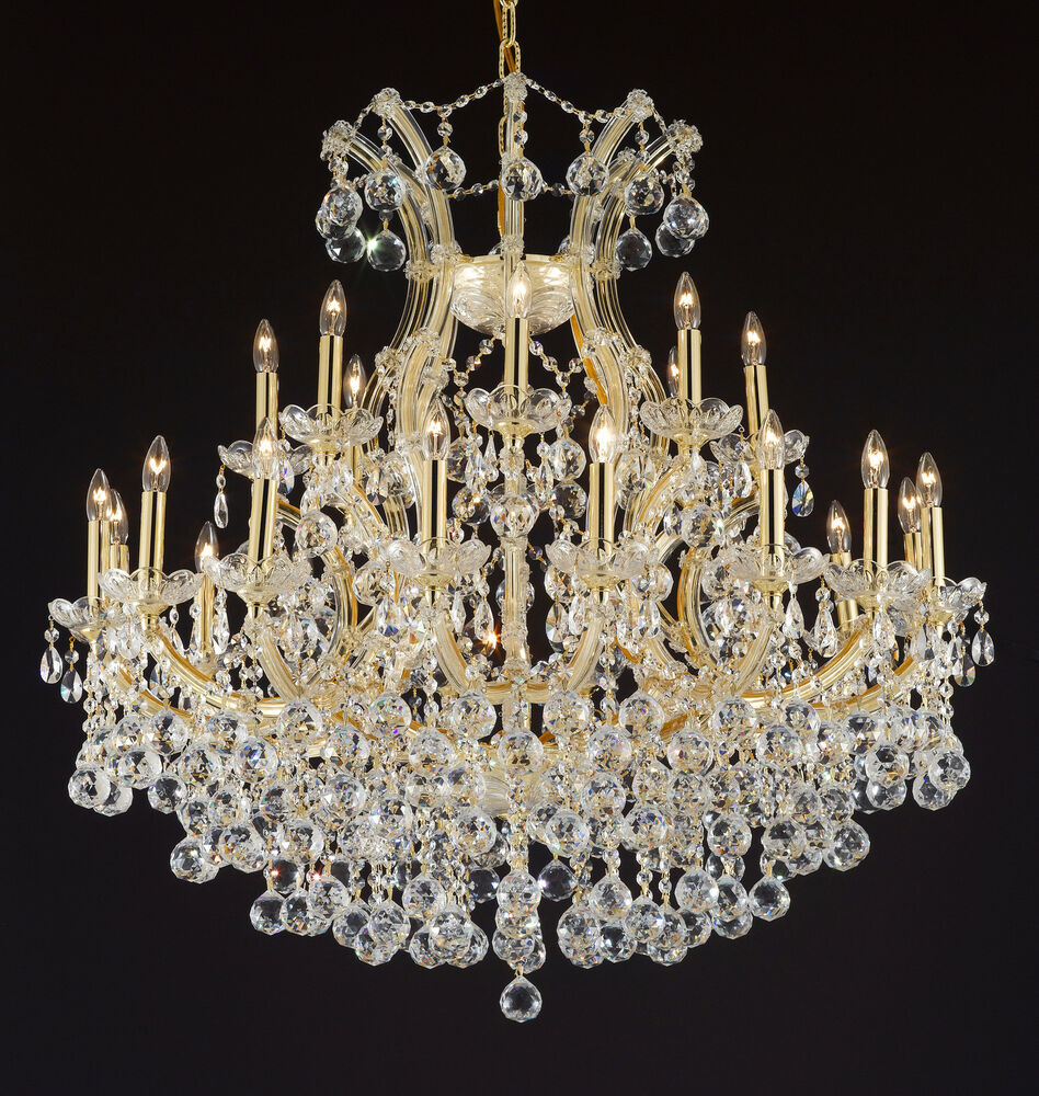 Maria Theresa Empress Crystal Tm Chandelier Chandeliers Lighting H  Ebay